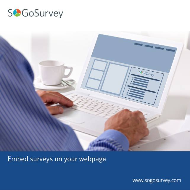 Embed Survey on your Webpage