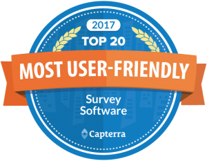 Capterra Most User Friendly Online Survey Software